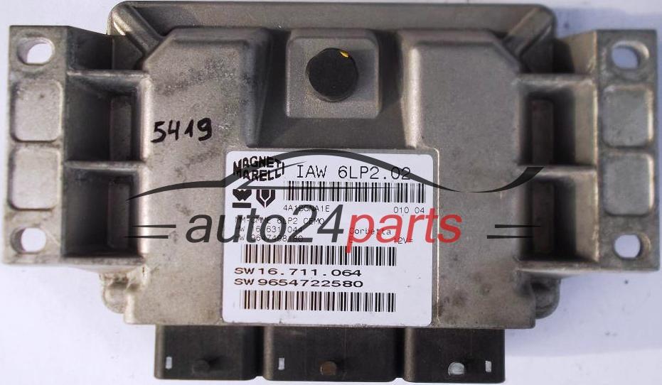 Fiat 500 cinquecento 11 magneti marelli iaw 16fer, iaw16fer, 46524181, 6160211000 e