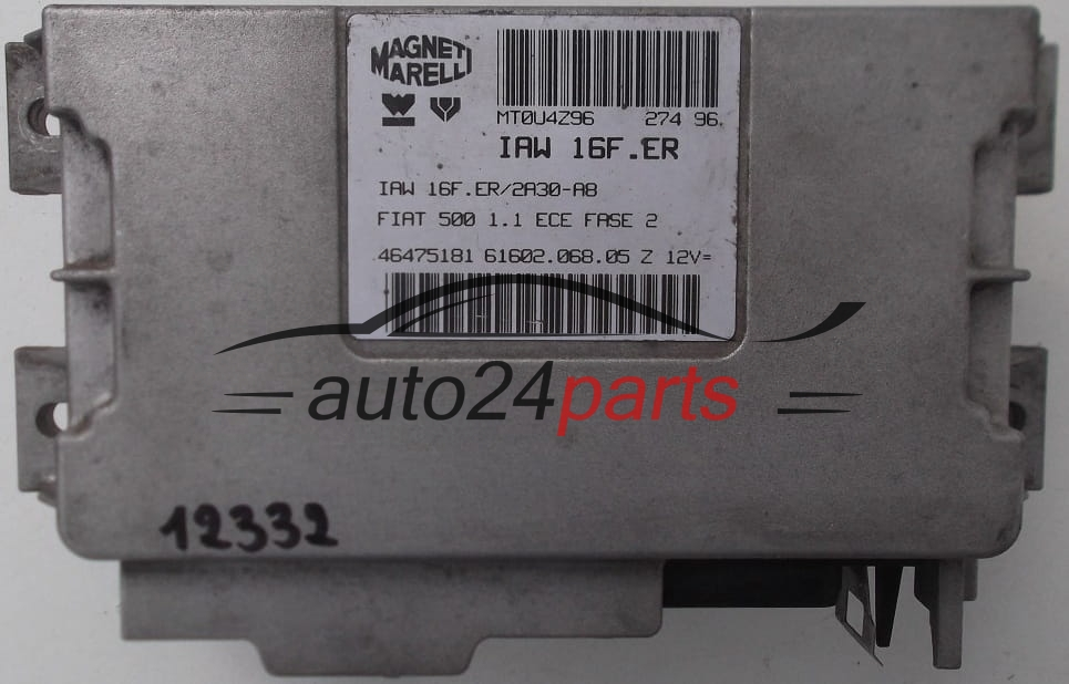 Ecu engine controller fiat panda 10 magneti marelli iaw 6fsh, iaw6fsh, 7759445, 6160202201, 6160202201