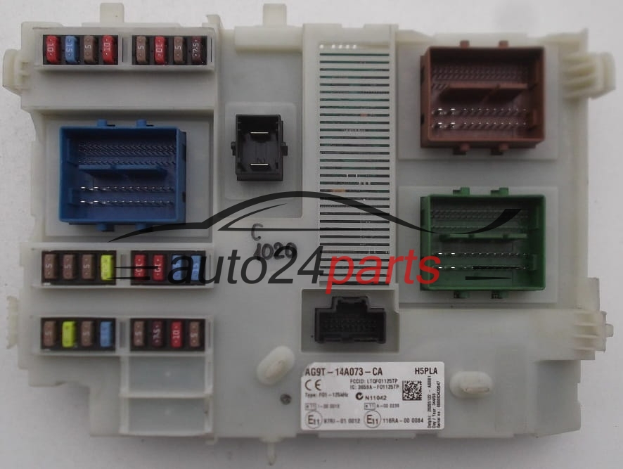 Ford Galaxy Fuse Box For Sale : Fuse box modul ford galaxy tdci ag t a ca