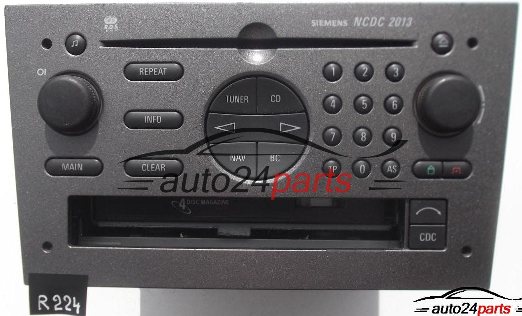 radio cd navi ncdc 2013 opel vectra 5wk76640 313203739. Black Bedroom Furniture Sets. Home Design Ideas