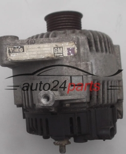 ALTERNATOR OPEL SINTRA 2.2 VALEO 2808490 A, 2808490A, GM 10295852, 105A - AR110