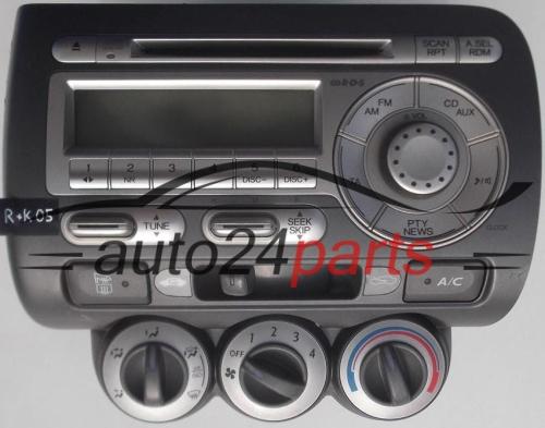 Control Panel Cd Radio Climatronic Honda Jazz Alpine Mf9hn34s