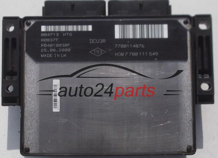 Clio Engine Coil Light
