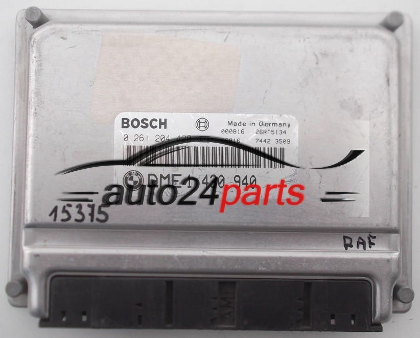 ECU ENGINE CONTROLLER BMW 3 E46 BOSCH 0 261 204 420, 0261204420, DME 1 430  940, DME1430940, 1430940