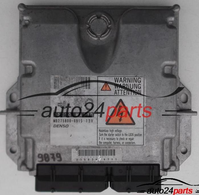 ECU ENGINE CONTROLLER NISSAN CABSTAR 23710 MA23D, 23710MA23D,  MB275800-6915, MB2758006915