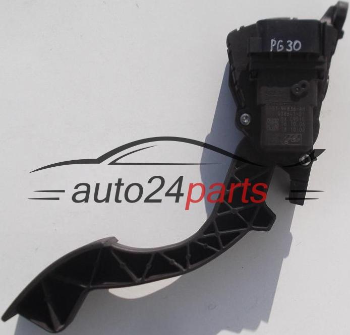 Metro Auto Parts >> PEDAL DE ACELERADOR POTENCIOMETRO FORD FOCUS 4M51-9F836-AH, 4M519F836AH, 1347104, 6PV 008641-01 ...