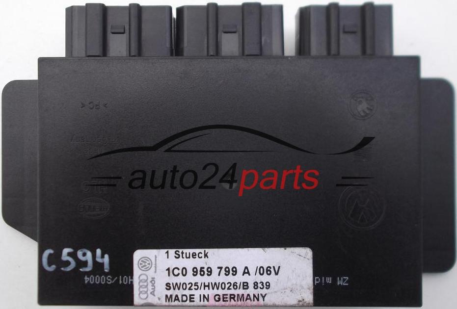 Comfort Control Module Vw Volkswagen Pat Audi Skoda Octavia 1 6
