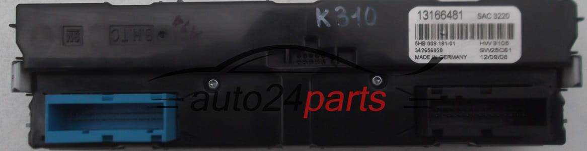 Mando De Calefaccion Aire Acondicionado Opel Vectra C Signum 13166481  6822074  68 22 074