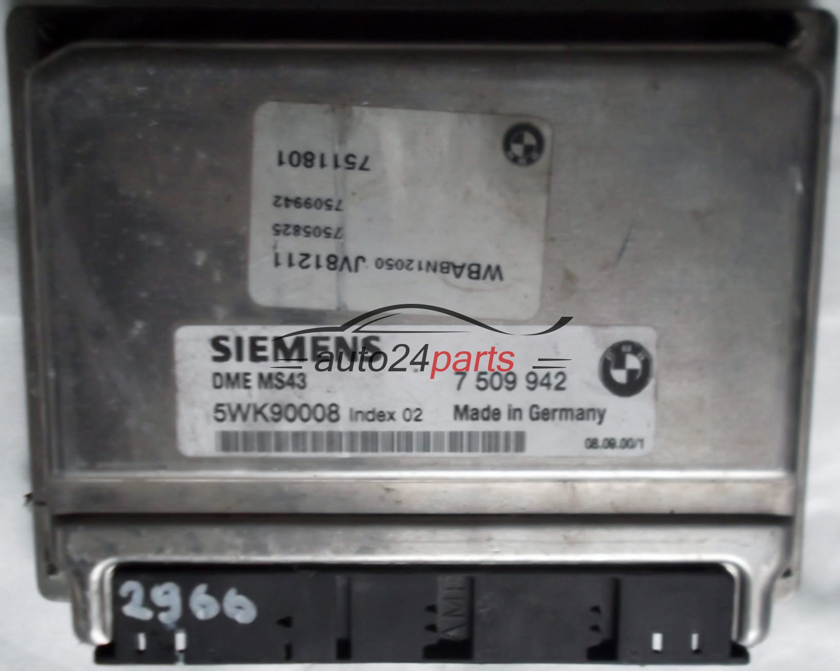 Image Of Bmw E46 Dme BMW E46 316i N42 Programmable Control Unit DME