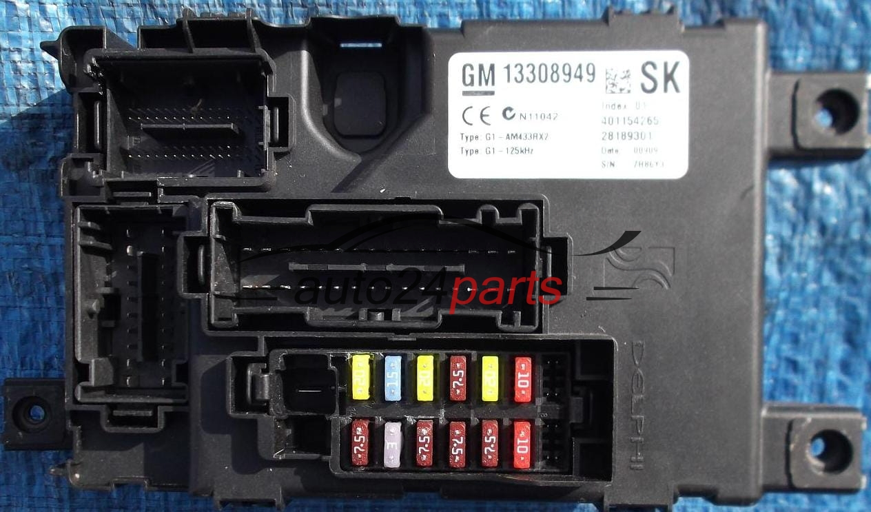 Fuse Box On A Corsa B : Fuse relay box electrical comfort control module body opel