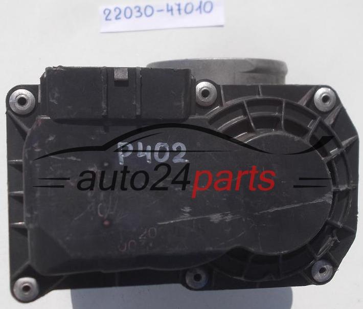 Throttle body toyota yaris 22030 47010 2203047010 auto24parts for 1076d door contact