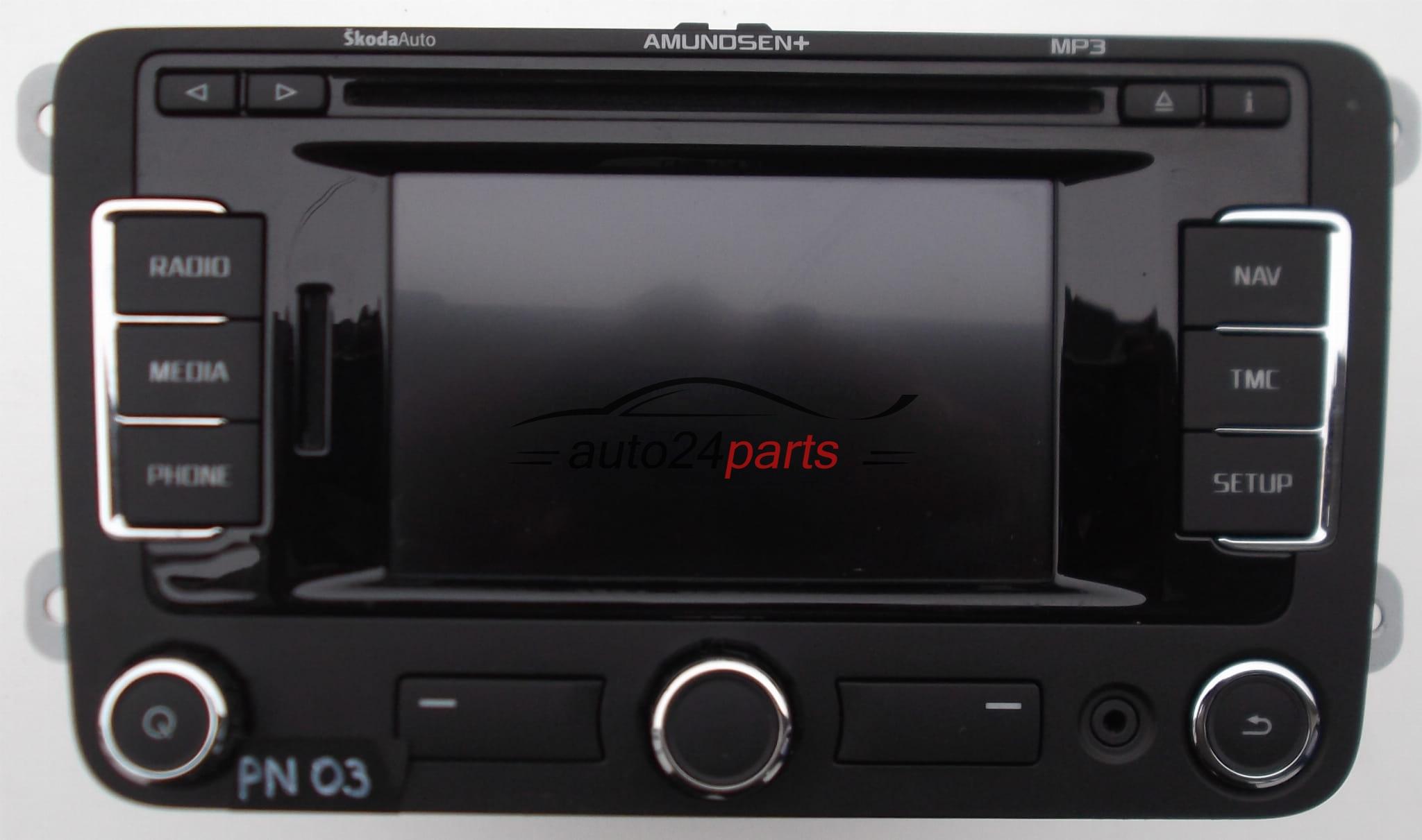 Verbazingwekkend Auto-Teile - RADIO CD NAVI SK RNS 315, SKRNS315 SKODA OCTAVIA 2011 QN-64