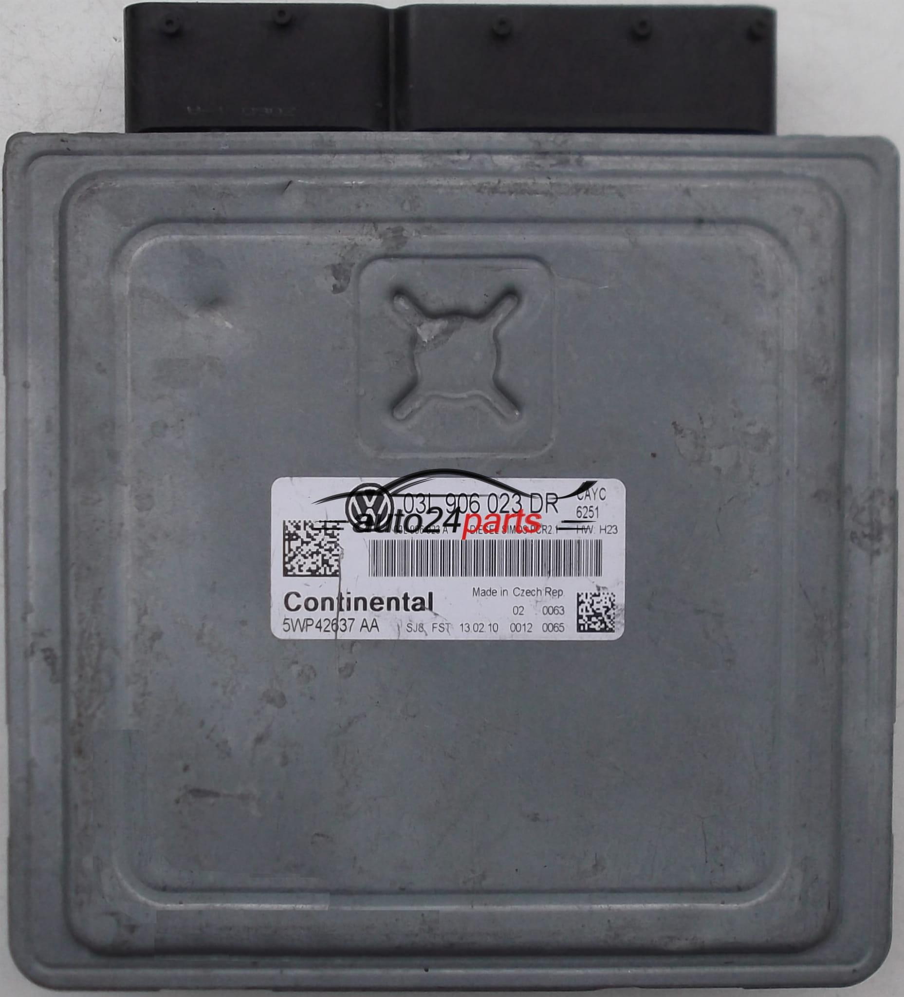 Ecu Engine Controller Vw Volkswagen Golf 1 6 Tdi