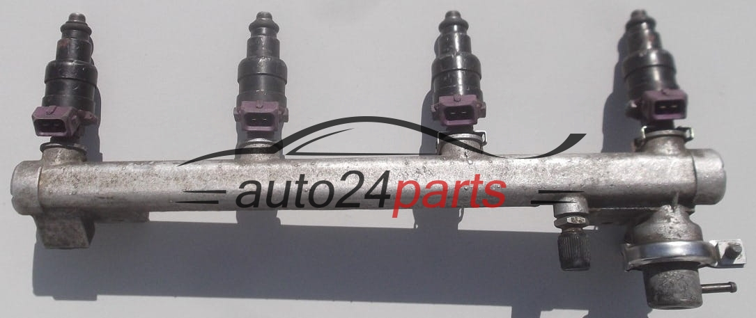 Fuel injector and fuel rail petrol OPEL OMEGA B X20XEV, X18XE GM 90 411  552, 90411552
