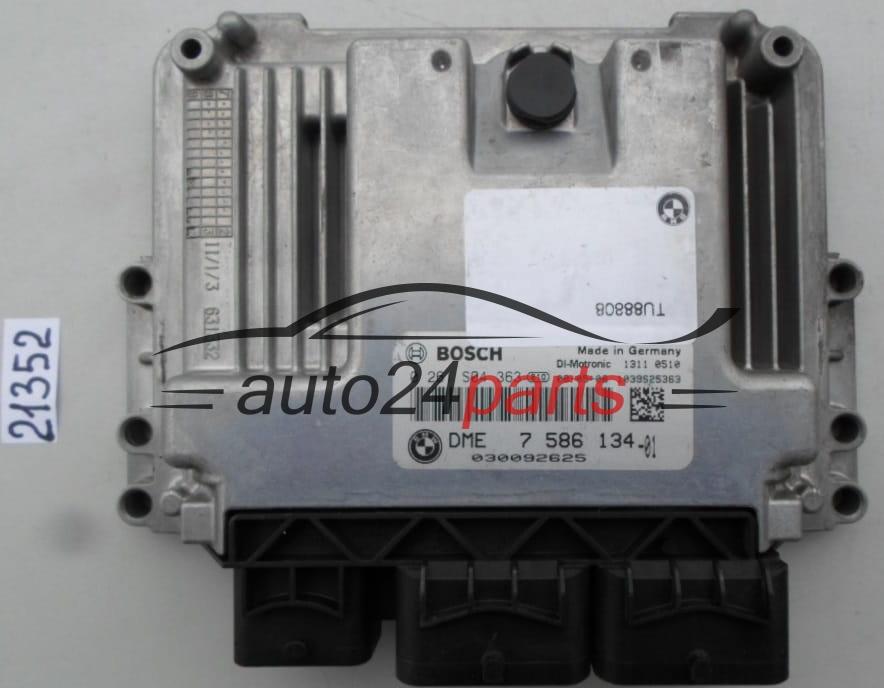ECU ENGINE CONTROLLER BMW MINI COOPER BOSCH 0 261 S04 363, 0261S04363, DME  7 586 134, DME7586134, 7586134