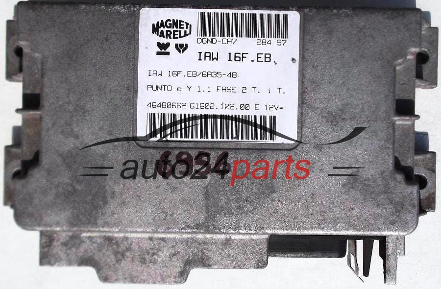 les pièces automobiles - FIAT PUNTO 1.1 MAGNETI MARELLI IAW 16F.EB