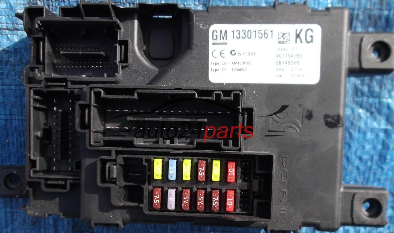 Fuse Box Opel Corsa D Download Wiring Diagrams Diagram Relay Electrical Comfort Control Module Body 17 Dti