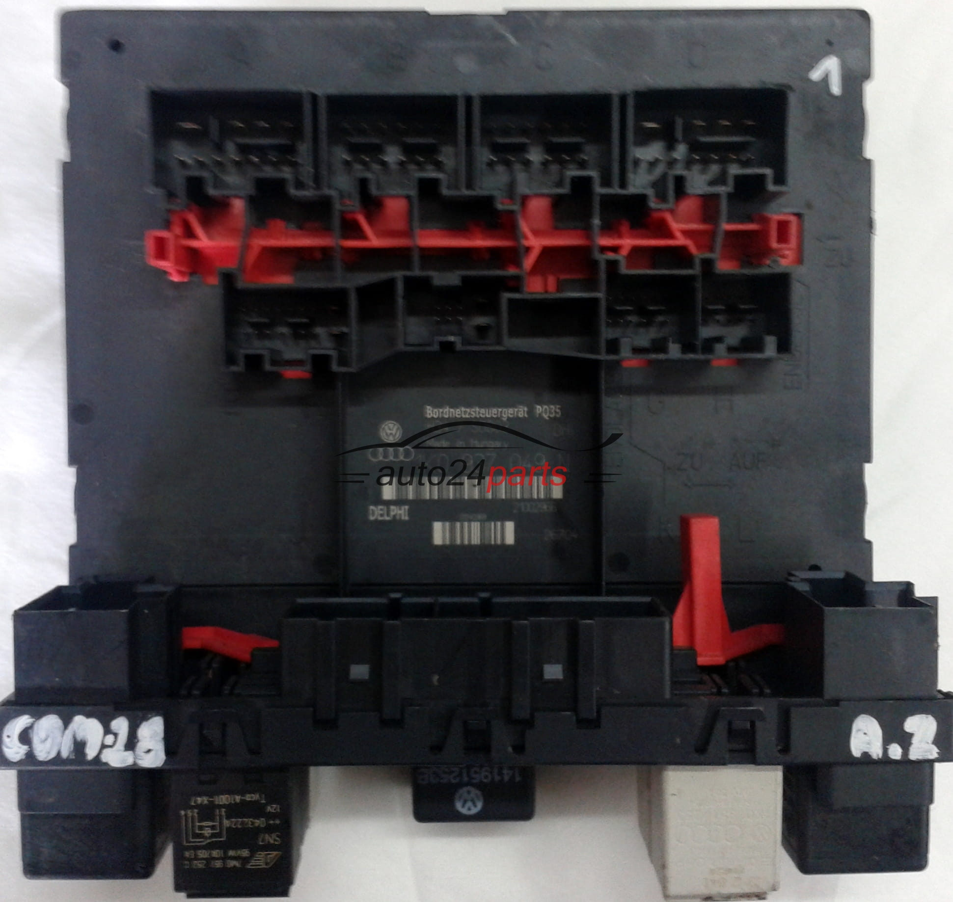 comfort control module bordnetzsteuerger t pq35 h34 s0803. Black Bedroom Furniture Sets. Home Design Ideas