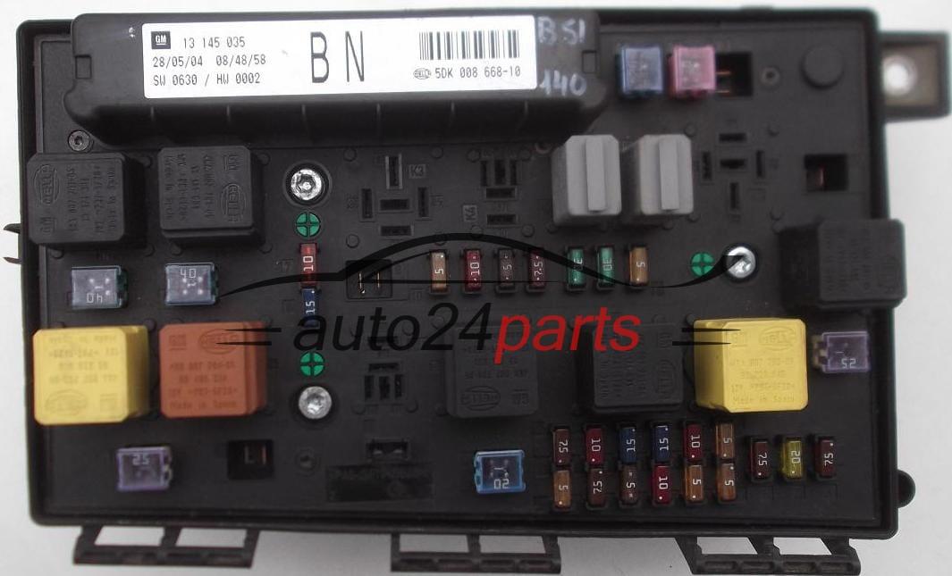 Pronto Auto Parts >> Scatola dei fusibili relè fusibile scatola BSI OPEL ASTRA ...