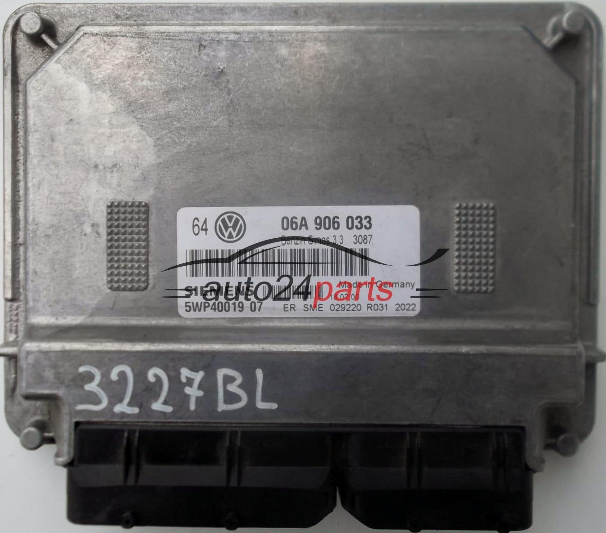 Pronto Auto Parts >> CENTRALINA MOTORE VW VOLKSWAGEN GOLF 1.6 APF 06A906033 ...