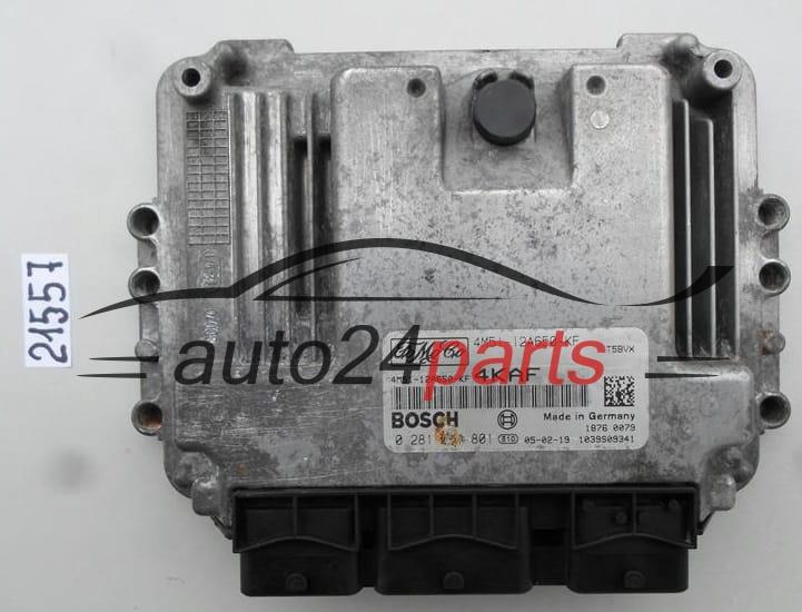 ECU ENGINE CONTROLLER FORD FOCUS BOSCH 0 281 011 801, 0281011801,  4M51-12A650-KF, 4M5112A650KF