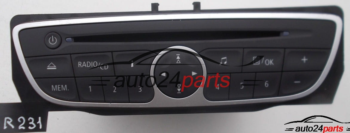 radio cd renault twingo 281150031 2811 500 31r 281150031rd 281150031rt vf1cnd10545215747. Black Bedroom Furniture Sets. Home Design Ideas