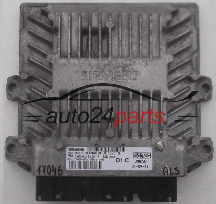 Ecu Engine Controller Volvo V50 S40 2 0d Siemens 5ws40212g