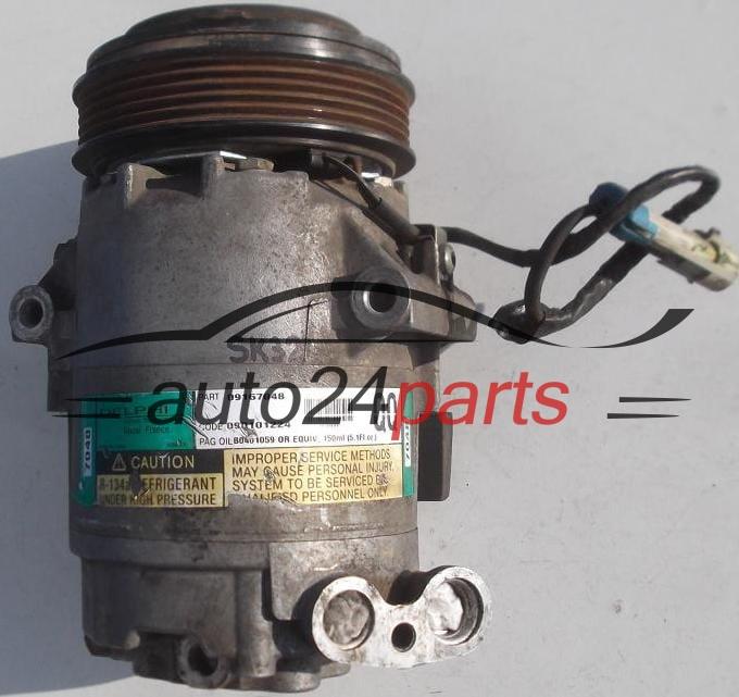 Compressor de ar condicionado OPEL AGILA 1.0 Z10XE Z10XEP 1.2 Z12XE Z12XEP  09167048 QQ, GM ...