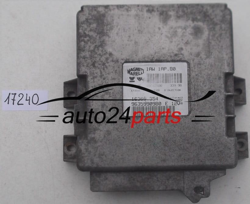 ecu engine controller peugeot 206 1.1 magneti marelli iaw 1ap.80