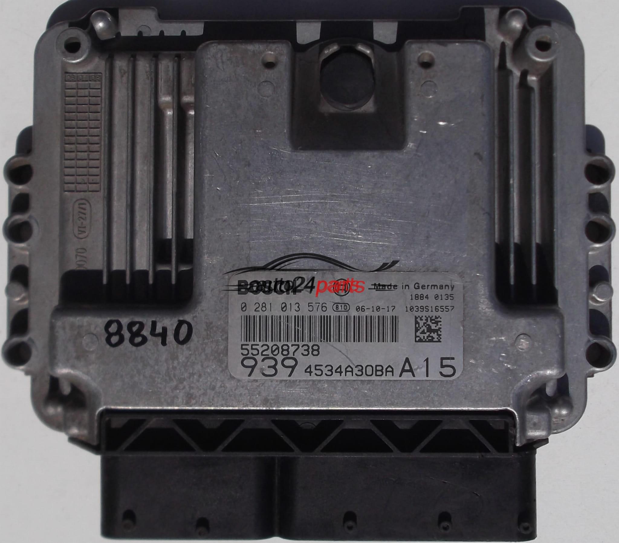 ECU ENGINE CONTROLLER ALFA ROMEO 159 1 9 JTD BOSCH 0 281 013 576