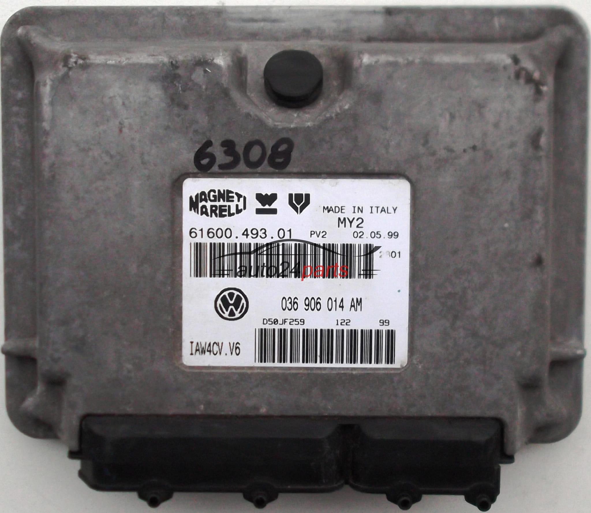 Ecu Engine Controller Vw Volkswagen Lupo 14 036906014am 036 906