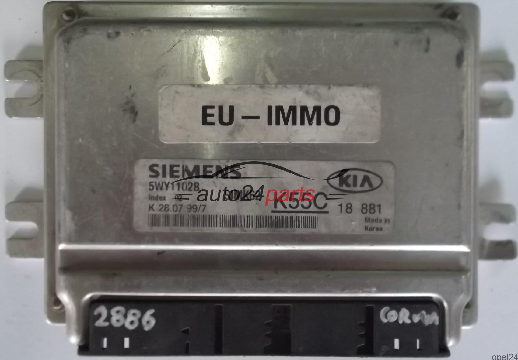 2002 Kia Sedona Interiorrunning Lightspower Lockspower Windows