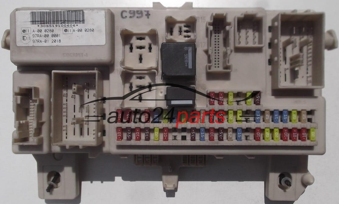 caja fusibles modul ford focus 4m5t 14a073 dg