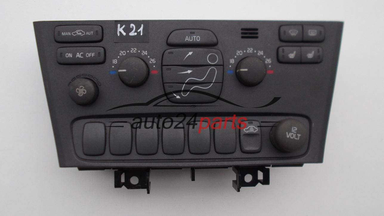 HEATING AND AIR CONDITIONING CONTROL PANEL SWITCH CLIMATRONIC VOLVO S60 V70 S80 XC70 9452368 ...