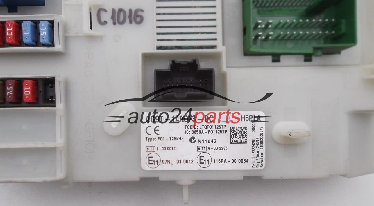 Fuse Box Modul Ford Galaxy 20 Tdci Ag9t 14a073 Dc Ag9t14a073dc
