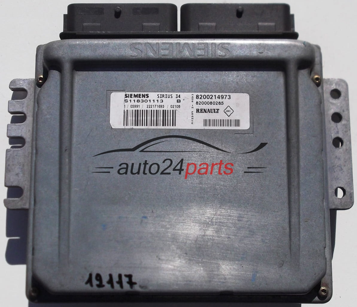 Ecu Engine Controller Renault Clio Siemens S118301113 B
