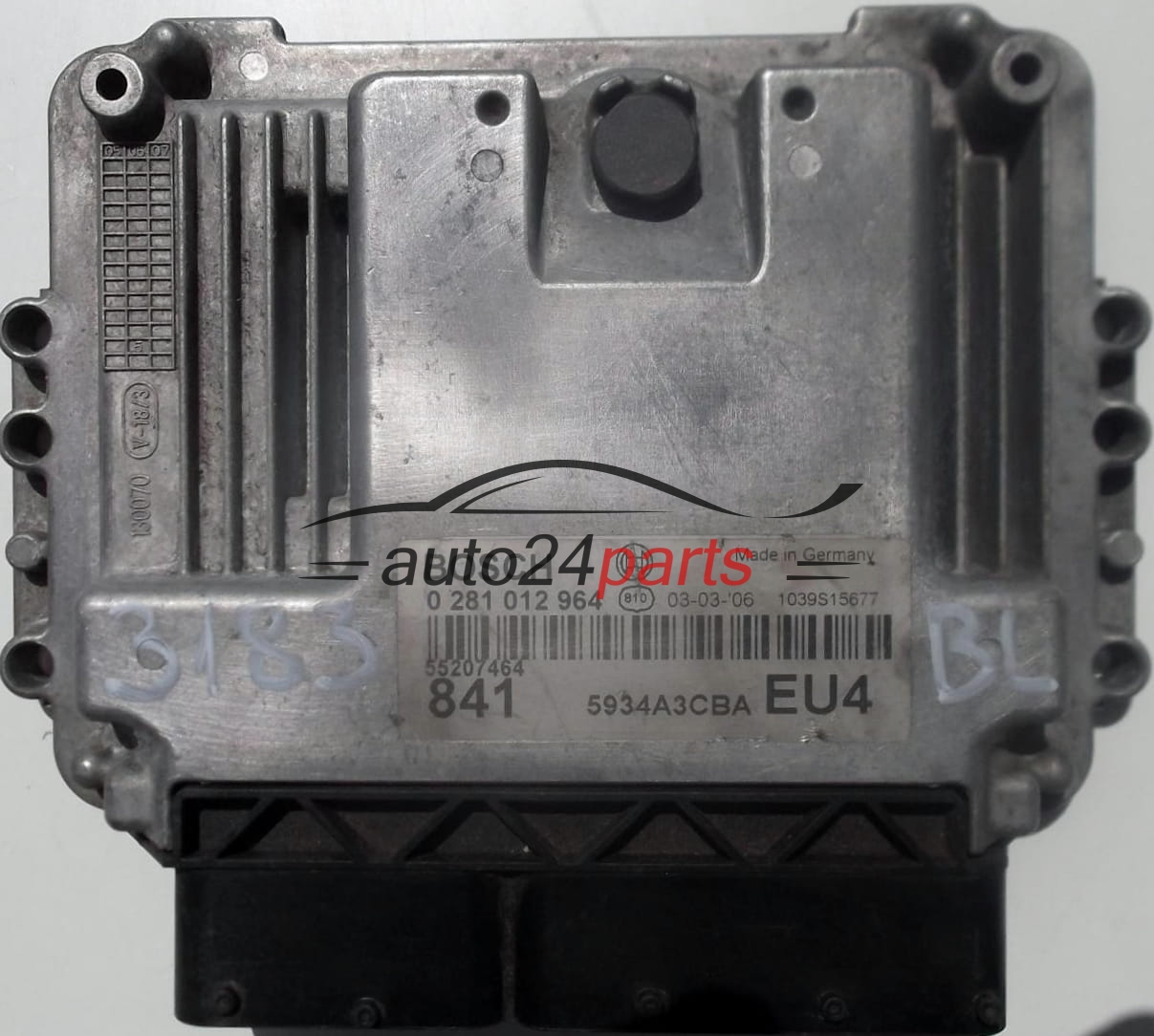 ecu engine controller lancia thesis 2.4 jtd bosch 0281012964, 0 281