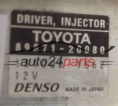 ECU ENGINE CONTROLLER TOYOTA AVENSIS RAV-4 2 2 D4D DENSO 131000-1562,  1310001562, 89871-20080, 8987120080