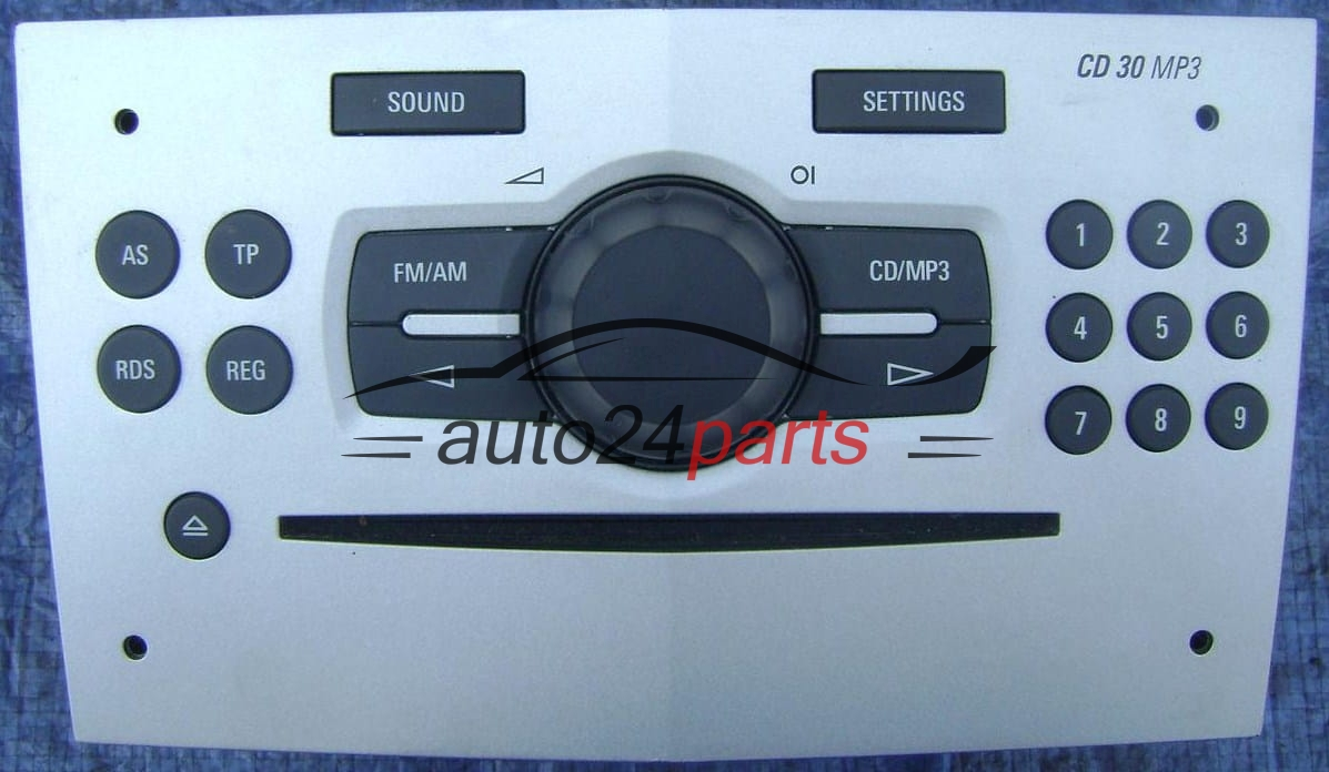 radio cd 30 mp3 2008 opel astra agila corsa meriva vectra. Black Bedroom Furniture Sets. Home Design Ideas