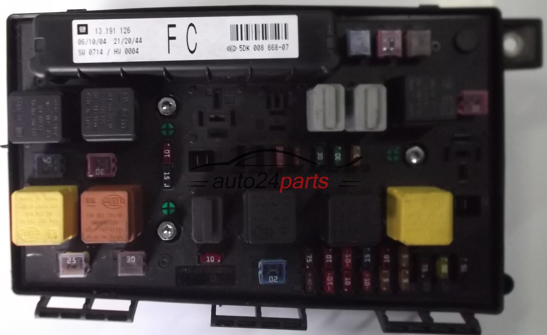 Vauxhall Astra Fuse Box Numbers : Fuse relay box electrical comfort control module body opel
