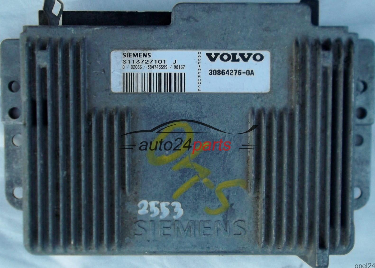 ECU ENGINE CONTROLLER VOLVO S40 V40 2.0 SIE S113727101J ...