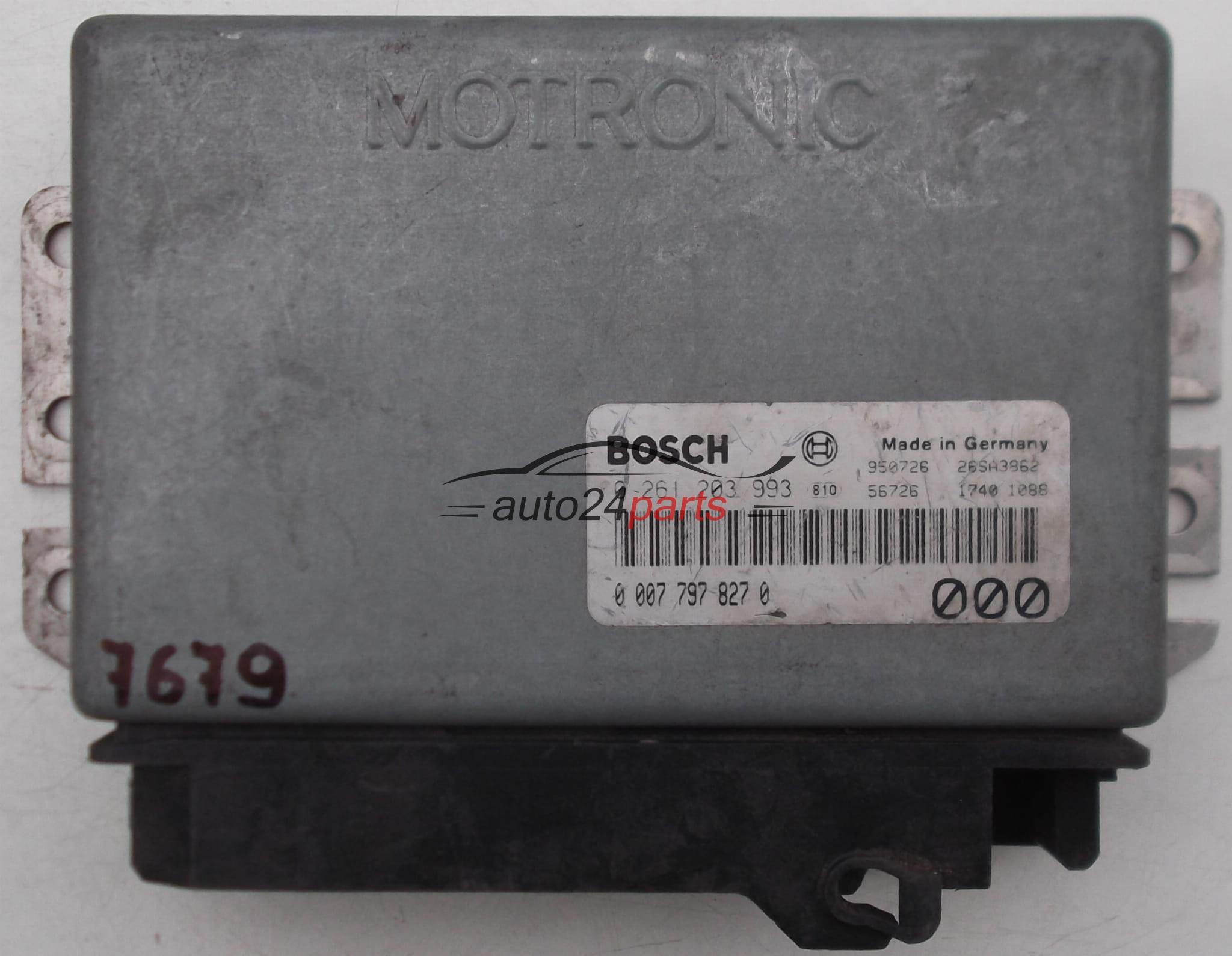 ECU ENGINE CONTROLLER ALFA ROMEO 155 1 8 TS 2 0 TS BOSCH 0 261 203