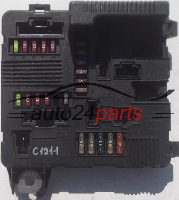 Renault Megane Fuse Box Price : Fuse relay box electrical renault megane scenic siemens