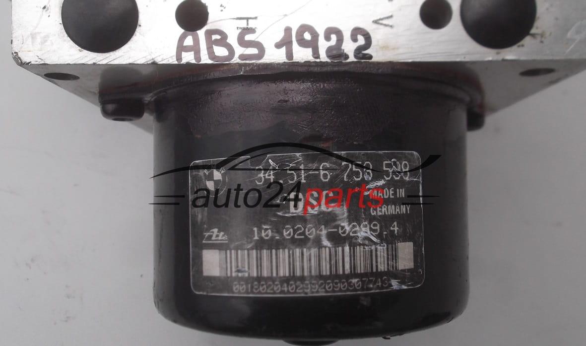 Abs Pump Bmw Z3 E46 34 51 6 753 598 34516753598 Ate 10