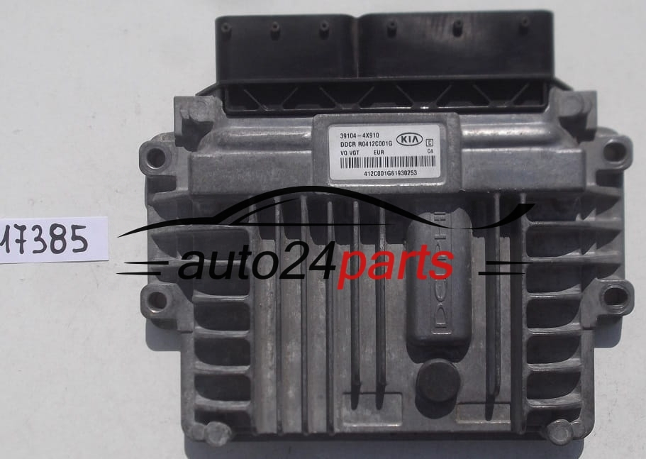 ECU ENGINE CONTROLLER KIA CARNIVAL III 2 9 CRDI DELPHI R0412C001G,  39104-4X910, 391044X910