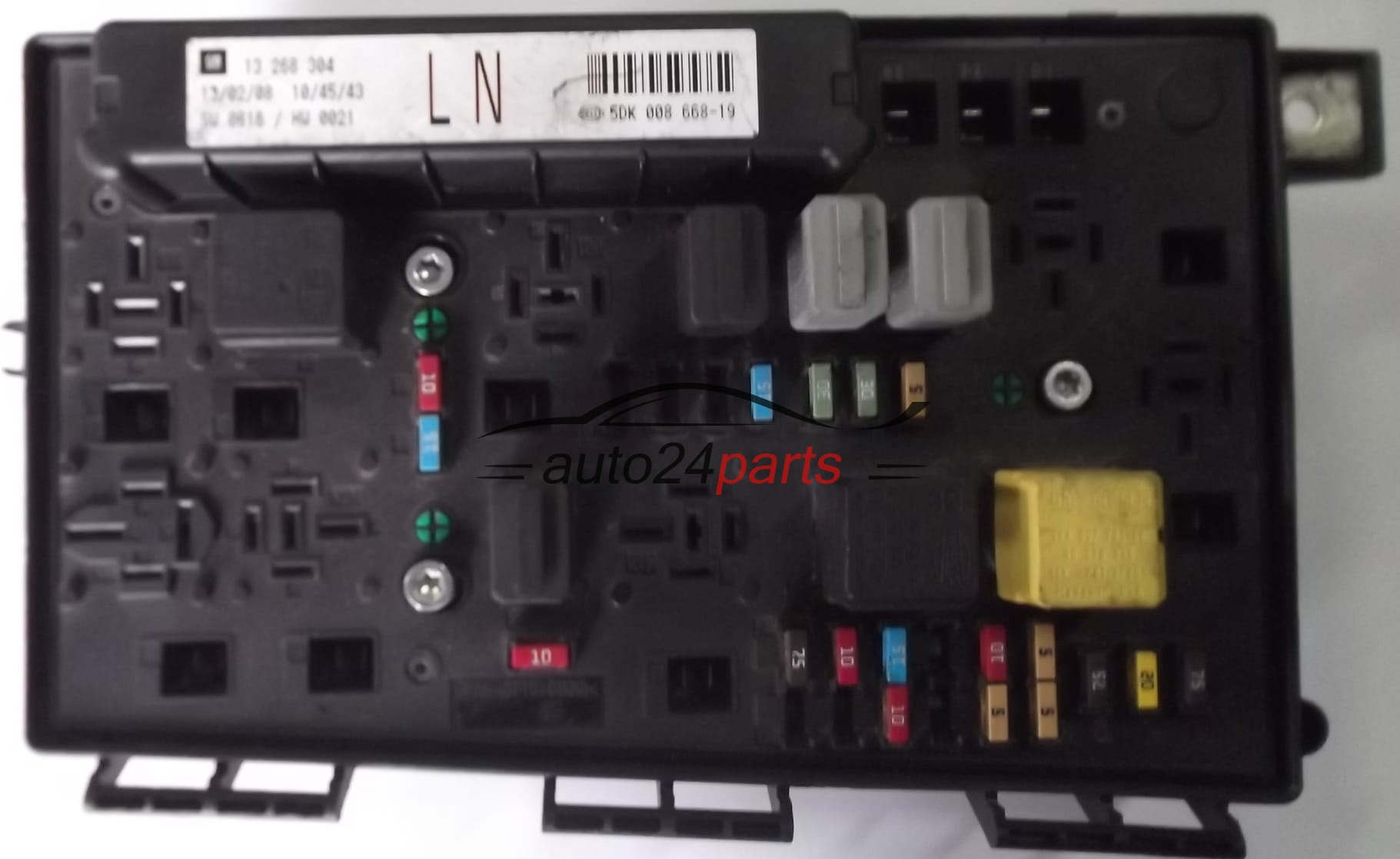 Fuse Box For Vauxhall Zafira : Fuse relay box electrical comfort control module body opel