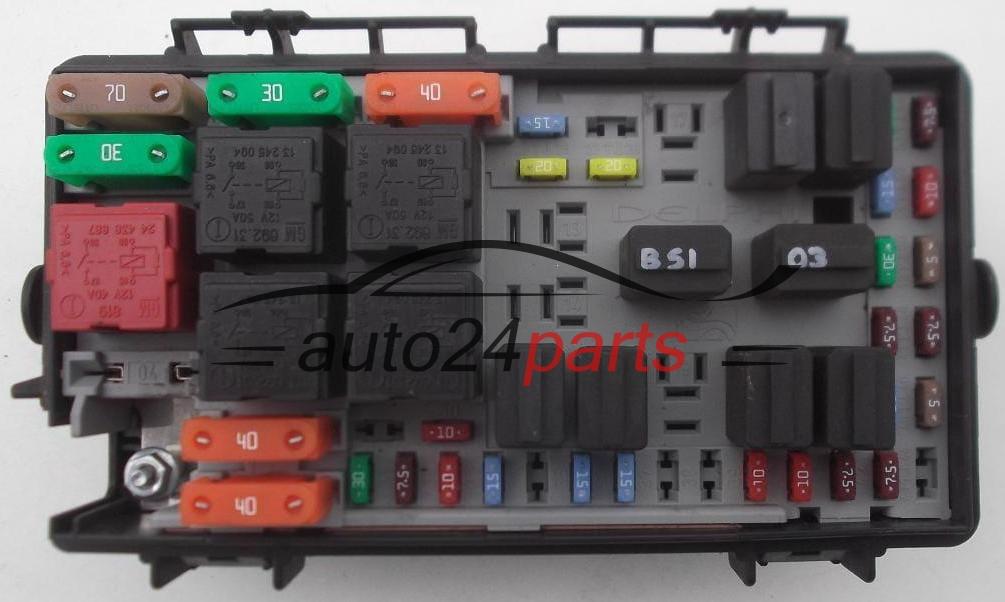 Les Pi 232 Ces Automobiles Boite Electrique A Relais Et