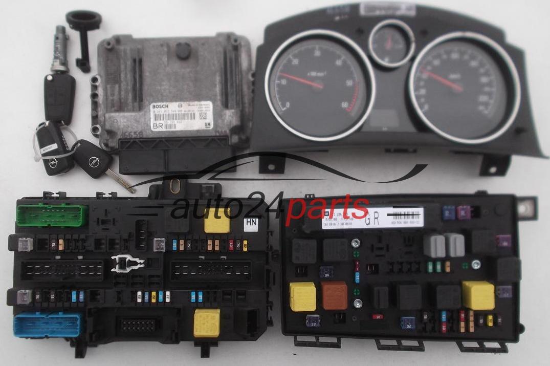 les pi ces automobiles calculateur moteur opel zafira 1. Black Bedroom Furniture Sets. Home Design Ideas
