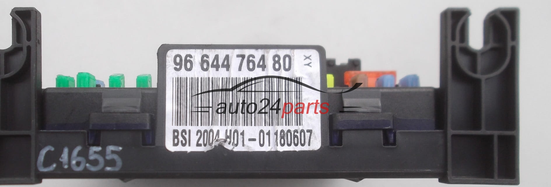 FUSE RELAY BOX ELECTRICAL COMFORT CONTROL MODULE BODY PEUGEOT 307 96 644  764 80, 9664476480, 281215447A