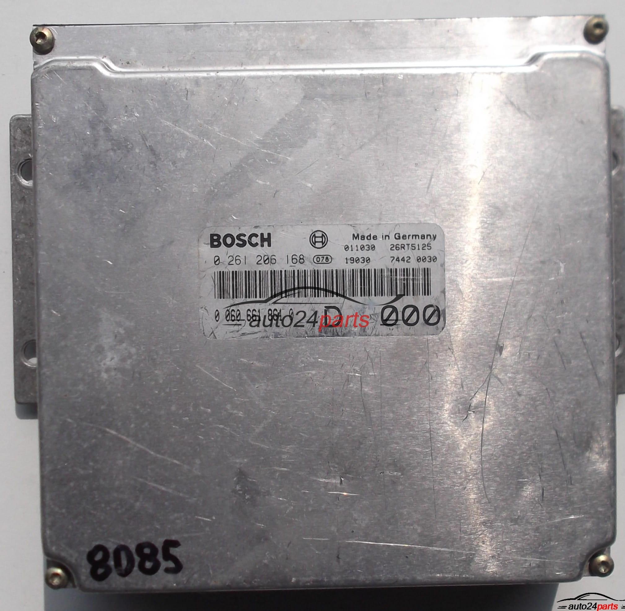 ECU ENGINE CONTROLLER ALFA ROMEO 156 2 5V6 BOSCH 0 261 206 168